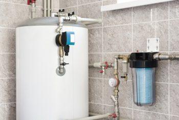 foto de um dos tipos de boiler instalado