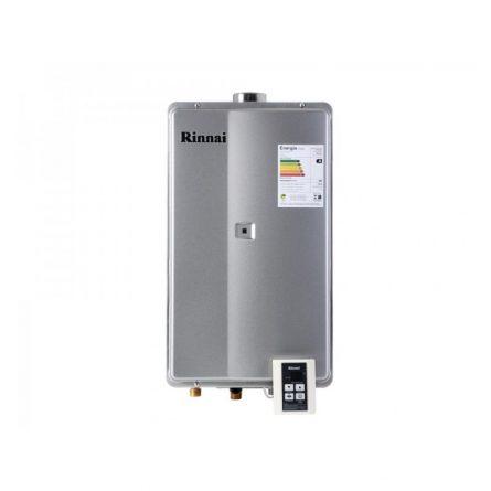 Aquecedor de Passagem Digital Rinnai GN 35 Litros - 2802FEC (Prata)