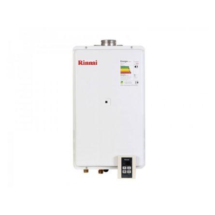 Aquecedor de Passagem Digital Rinnai GLP 35,5 Litros - 2802FEC (Branco)
