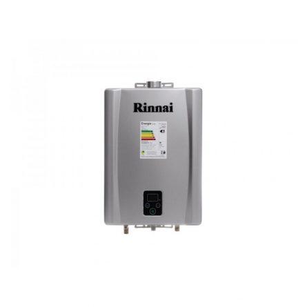 Aquecedor de Passagem Digital Rinnai GN 17 Litros - E171FEHB (Inox)