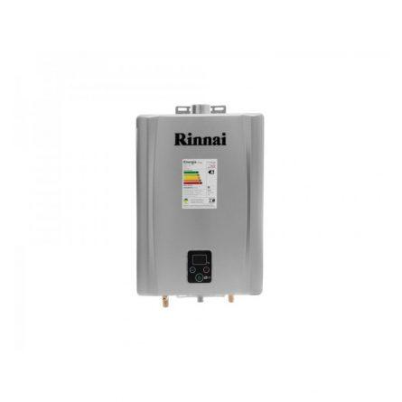 Aquecedor de Passagem Digital Rinnai GLP 21 Litros - E211FEHG (Inox)