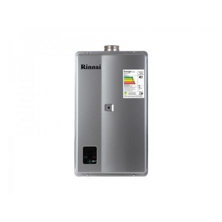 Aquecedor de Passagem Digital Rinnai GN 32,5 Litros - E331FEHB (Prata)